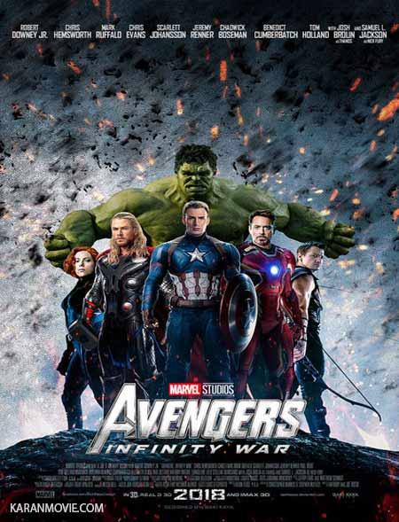 دانلود فیلم انتقام جویان ۳ Avengers Infinity War 2018