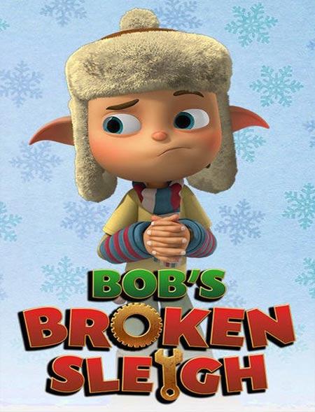 دانلود انیمیشن Bobs Broken Sleigh 2015 دوبله فارسی
