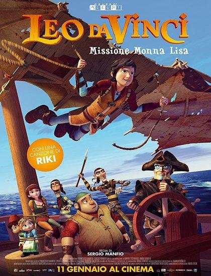 دانلود انیمیشن لئوناردو داوینچی Leo Da Vinci 2018
