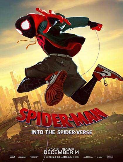 دانلود انیمیشن مرد عنکبوتی 2018 Spider Man Into the Spider Verse