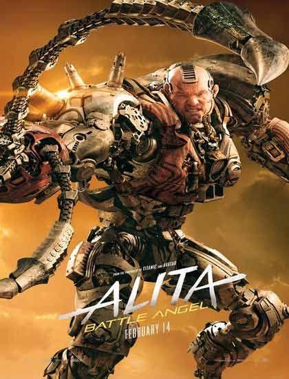 دانلود فیلم آلیتا فرشته جنگ - 2019 Alita Battle Angel