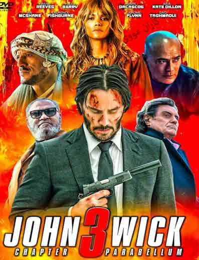 دانلود فیلم جان ویک 3 دوبله فارسی