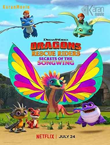 دانلود انیمیشن Dragons Rescue Riders Secrets of the Songwing 2020 دوبله فارسی