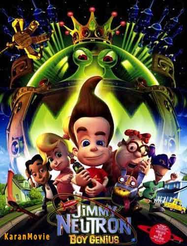 دانلود انیمیشن Jimmy Neutron Boy Genius 2001 دوبله فارسی