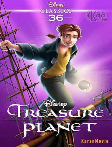 دانلود انیمیشن Treasure Planet 2002 دوبله فارسی