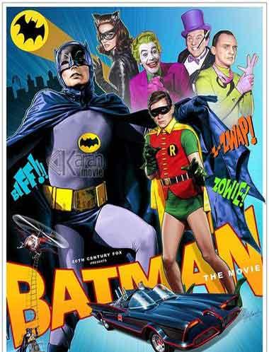 دانلود فیلم Batman The Movie 1966 دوبله فارسی