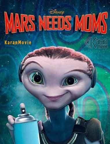 دانلود انیمیشن Mars Needs Moms 2011 دوبله فارسی