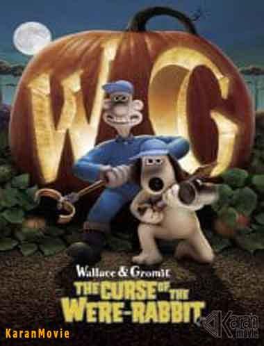 دانلود انیمیشن Wallace & Gromit The Curse of the Were-Rabbit 2005 دوبله فارسی