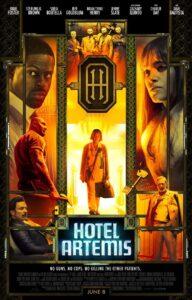 دانلود فیلم Hotel Artemis 2018 با زیرنویس فارسی چسبیده