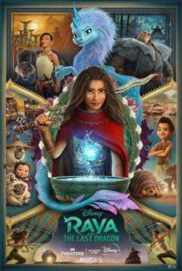 دانلود انیمیشن Raya and The Last Dragon 2021 با زیرنویس فارسی