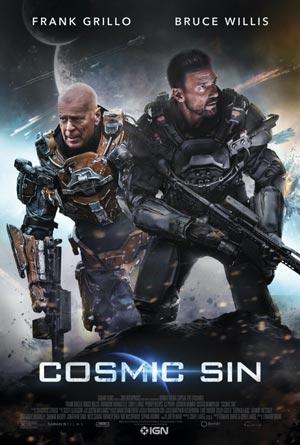 دانلود فیلم Cosmic Sin 2021 با دوبله فارسی