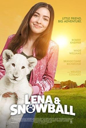 دانلود فیلم Lena and Snowball 2021 با دوبله فارسی
