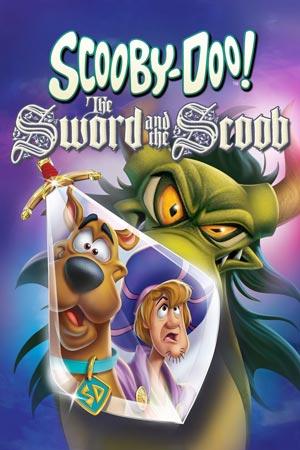 دانلود انیمیشن Scooby-Doo! The Sword and the Scoo 2021 با دوبله فارسی