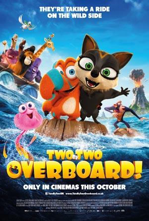 دانلود انیمیشن Two by Two: Overboard! 2020 با دوبله فارسی