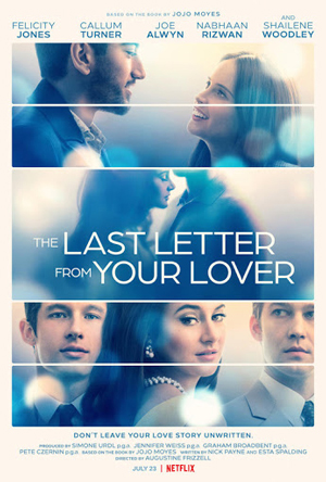 دانلود فیلم Last Letter from Your Lover 2021 با زیرنویس فارسی همراه