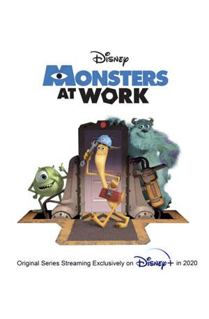 دانلود انیمیشن Monsters at Work 2021 با زیرنویس فارسی