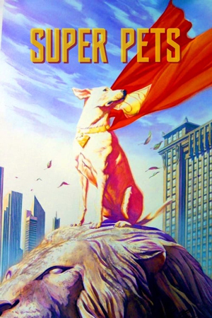 دانلود انیمیشن DC League of Super-Pets 2022 با زیرنویس فارسی همراه