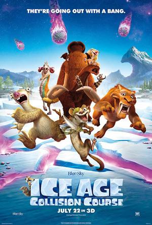 دانلود انیمیشن Ice Age: Collision Course 2016 با دوبله فارسی