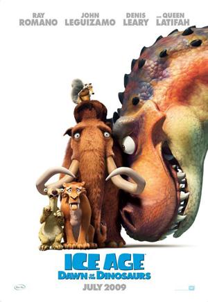 دانلود انیمیشن Ice Age: Dawn Of The Dinosaurs 2009 با دوبله فارسی
