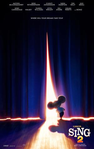 دانلود انیمیشن Sing 2 2021 با زیرنویس فارسی همراه