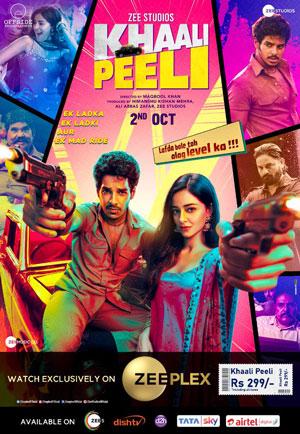 دانلود فیلم Khaali Peeli 2020 با زیرنویس فارسی همراه