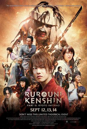 دانلود فیلم Rurouni Kenshin Part II: Kyoto Inferno 2014 با زیرنویس فارسی همراه