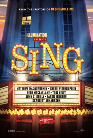 دانلود انیمیشن Sing 2016 با زیرنویس فارسی همراه
