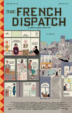 دانلود فیلم The French Dispatch 2021 با زیرنویس فارسی همراه